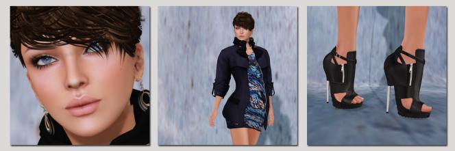 Short Skirt LongJacket