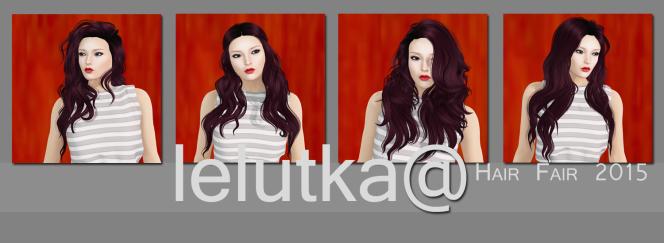 LeLutka at Hair Fair2015