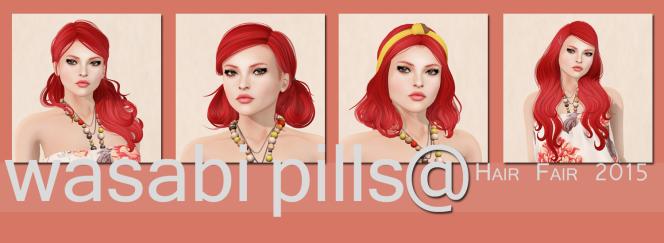 Wasabi Pills for Hair Fair2015