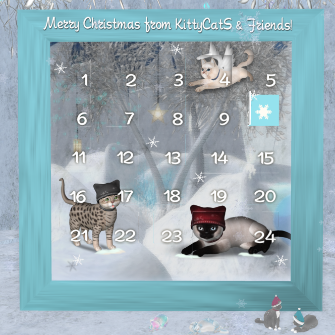 More KittyCatS Advent Calendar Gifts!